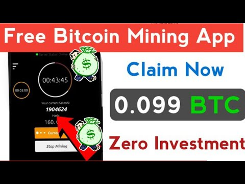 Earn 0.099 BTC FREE |  New Bitcoin Mining App 2021| Free Bitcoin Mining App Without Investment 2021