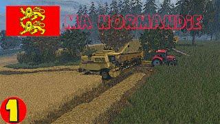 Farming simulateur 15  MA NORMANDIE EPISODE 1 on commence