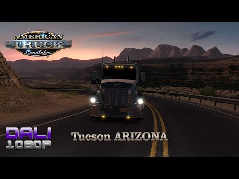 American Truck Simulator Arizona DLC Tucson PC Gameplay 60fps 1080p