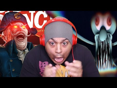 CAPTAIN CRUNCH HORROR GAME HOLD UP!! [3 SCARY GAMES]