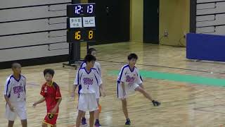 20191130福岡県中学新人ハンドボール(男子) 準々決勝 多々良中央vs当仁(後半)