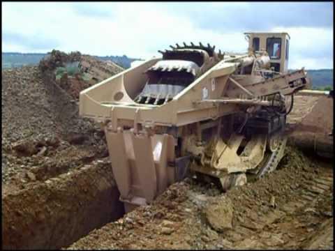 Tesmec 1475 Bucket Wheel Trencher - UK - Pipeline