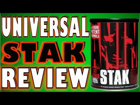 Animal Stak by Universal Animal Review Testosterone Booster