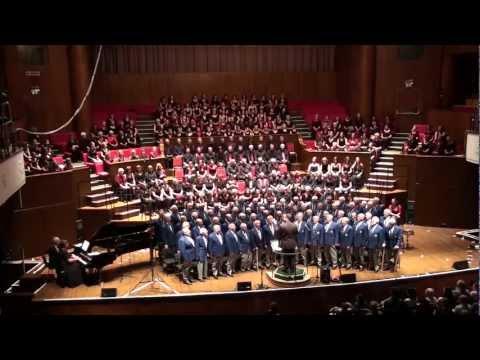 Bohemian Rhapsody. Bristol Male Voice Choir, Gurt Winter Concert 2012. The Colston Hall