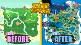 Surprising An Animal Crossing Fan With His Dream Base In Minecraft | Nerdy House Flippers E6
