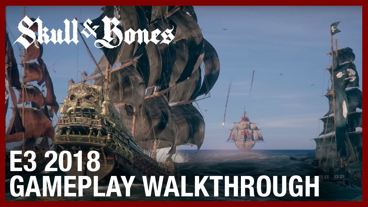 Skull & Bones: E3 2018 The Hunting Grounds | Gameplay Walkthrough | Ubisoft [NA]