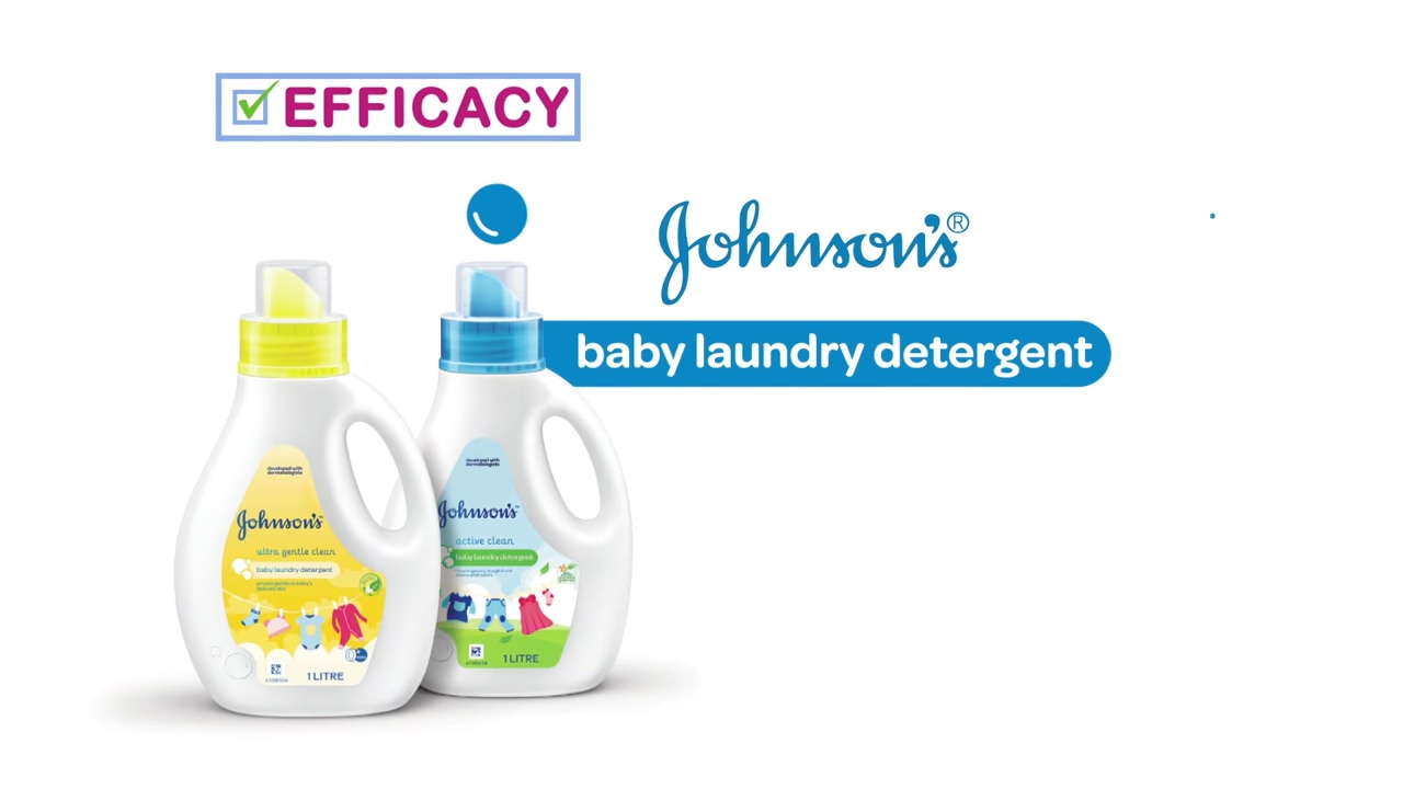 Johnson's Baby Laundry Detergent  Best For Baby
