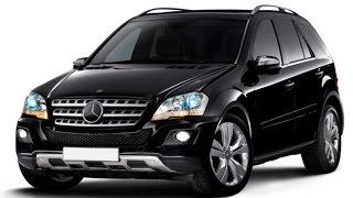 Замена лобового стекла на Mercedes-Benz ML в Казани.