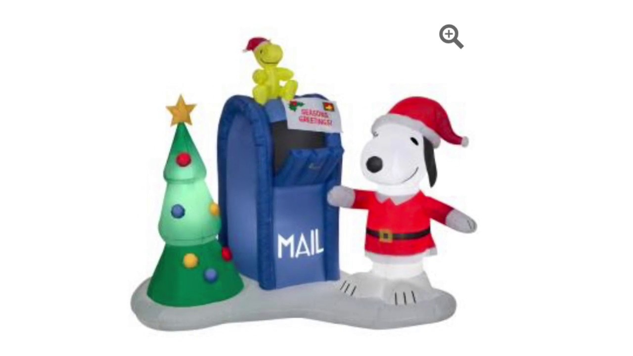 2017 Christmas Inflatables At Home Depot Matts Holiday Decoration Channel