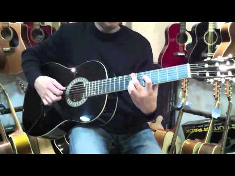 guitare classique stagg c542 youtube. Black Bedroom Furniture Sets. Home Design Ideas