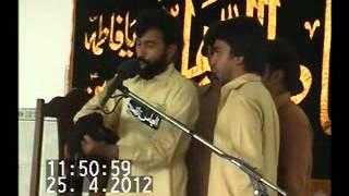 Zakir Ali Raza Daudkhail (3 Jmad ul Sani 2012 Talagang)