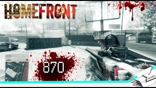 Homefront 870 shotgun