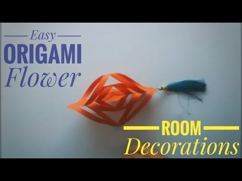 Diy Origami Paper Crafts 2019 | Folding Handmade Craft | Howto Make Flower For Home Decorations