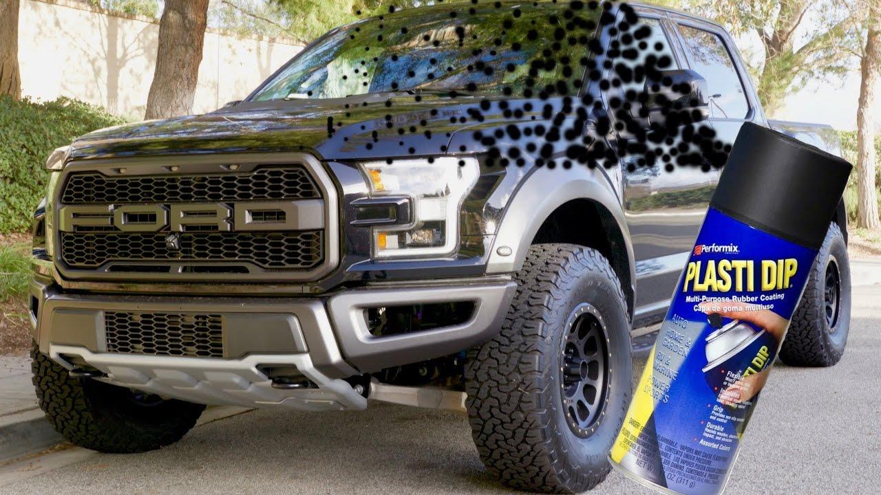 Plasti Dip on the 2017 Ford Raptor - YouTube a6c367b6e7