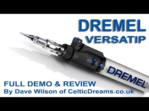 Dremel Versatip Gas Soldering Torch Demo & Review in HD