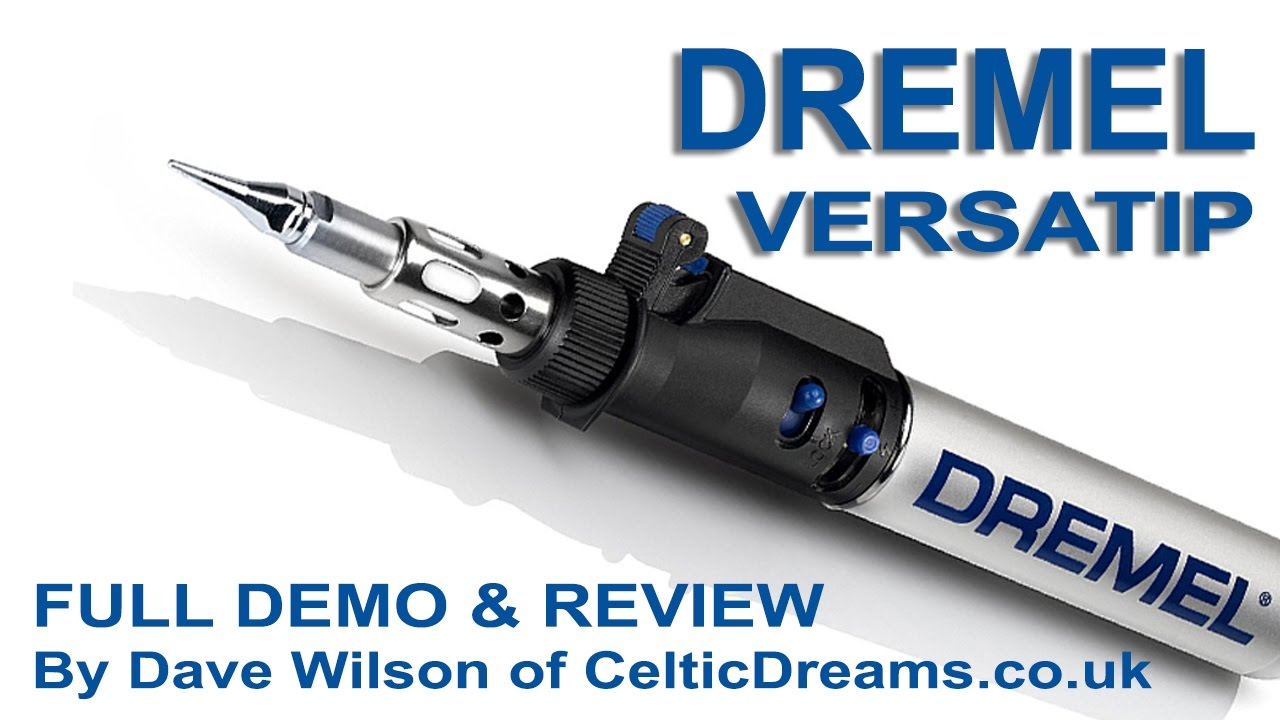 dremel versatip gas soldering torch demo review in hd youtube. Black Bedroom Furniture Sets. Home Design Ideas