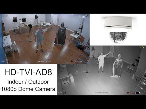 1080p HD-TVI CCTV Camera Infrared Video Surveillance