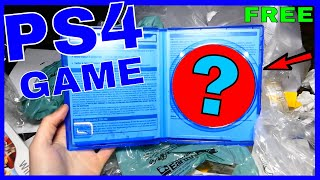 FREE PLAYSTATION 4 GAME!! Gamestop Dumpster Dive Night #407