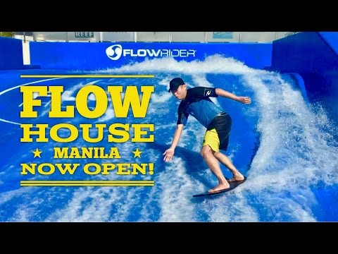 Flow House Manila Flow Rider Philippines Now Open Elements Mall Cavite by HourPhilippines.com