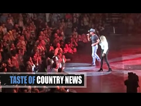 Tim McGraw And Daughter Gracie Sing Their Duet