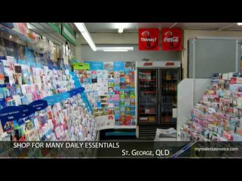 St George Newsagency + Residence Business for Sale - St George, QLD
