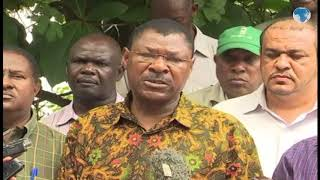 Senator Moses Wetang'ula supports the need for creation of a Prime minister position