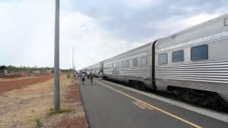オーストラリア大陸縦断鉄道