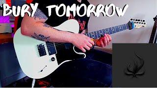 Bury Tomorrow - More Than Mortal (Guitar Cover + Solo)