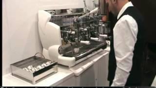 에스프레소 머신 폼페이 작동 요령 제작 회사의 DVD