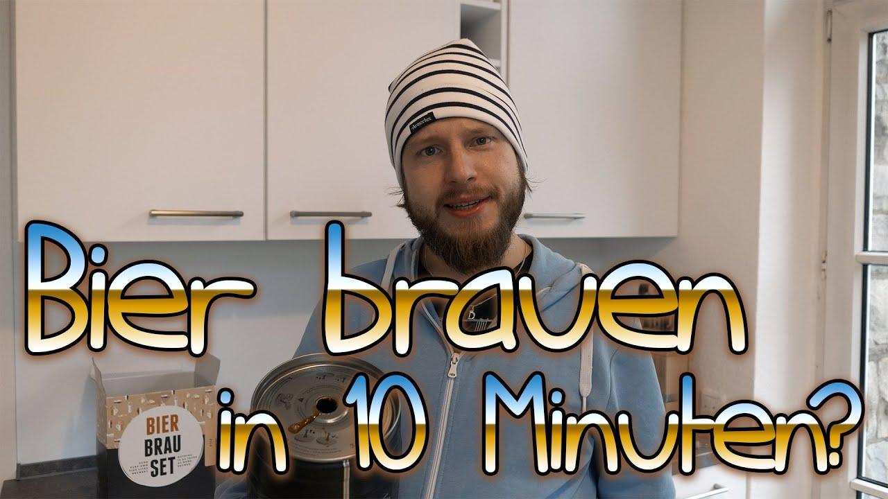 In 10 Minuten Bier brauen ? | Beer Making Kit Test