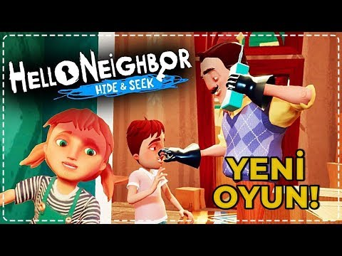 YENİ HELLO NEIGHBOR OYUNU (ÇOCUK OLDUK!)   Hello Neighbor Hide & Seek