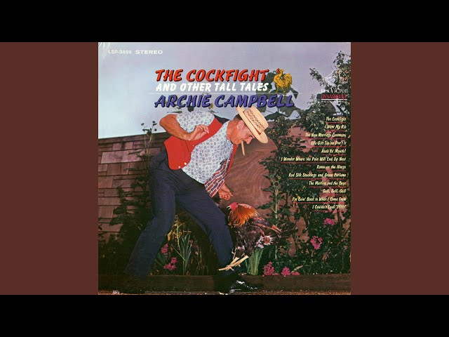 Information true archie cambell cock fight