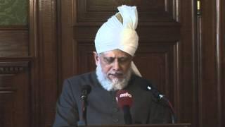 Hazrat Mirza Masroor Ahmad Khalifatul Masih V zu Besuch im Hamburger Rathaus am 14. Juni 2011