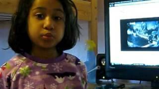 Aneesha singing Nanha Munna Rahi - Patriotic Indian Kids song
