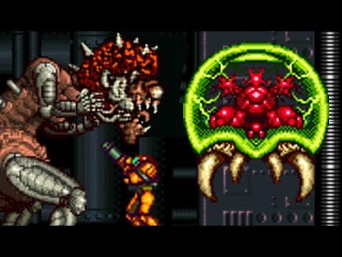 Super Metroid - All Bosses (No Damage)