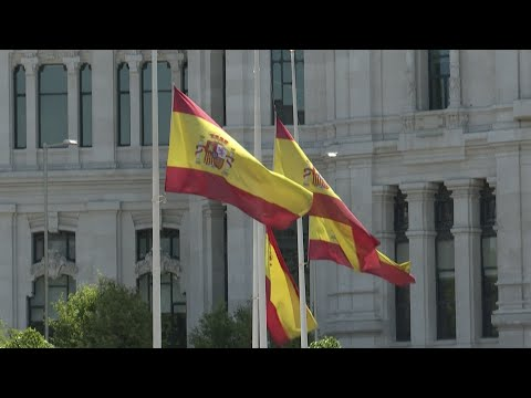 Spain Holds 10 Days Of Mourning For Coronavirus Victims