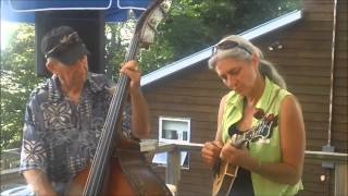 great fiddle jam session on bob tanners deck
