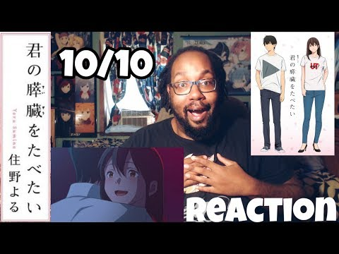 Living With Dying...I WANT TO EAT YOUR PANCREAS REACTION