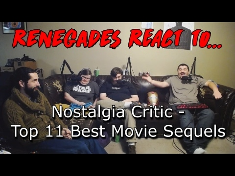 Renegades React to... Nostagia Critic - Top 11 Best Movie Sequels