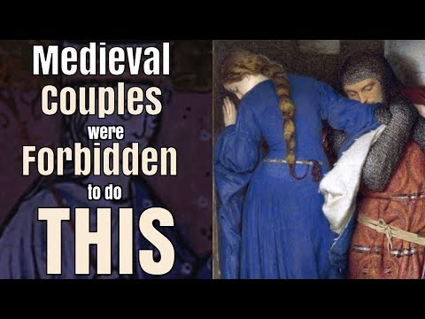 Medieval Married Couples were Forbidden to do THIS