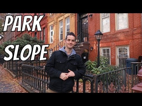 New York City Neighborhood Tour - Park Slope, Brooklyn ! (MUST VISIT)