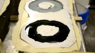 Casting a Resin Flange
