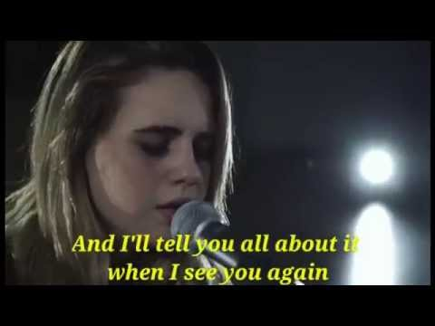 See You Again - Wiz Khalifa Feat. Charlie Puth (Boyce Avenue Feat. Bea Miller) - (Lyrics Video)