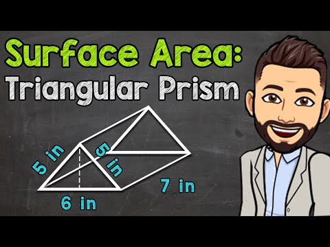 How to Find the Surface Area of a Triangular Prism   Math with Mr. J