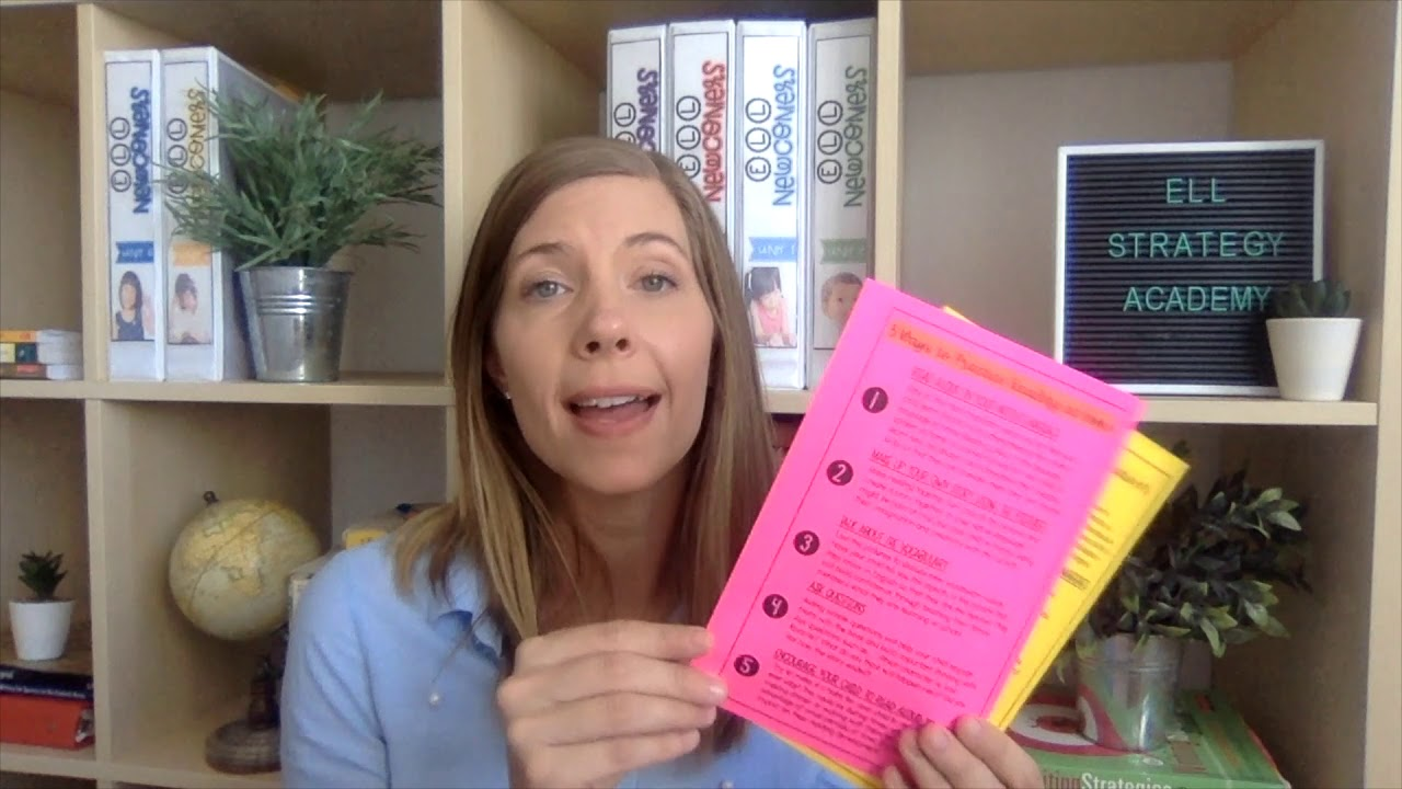 {Coaching Video #7} 4 Underestimated Tools to Helping your ELLs in Reading