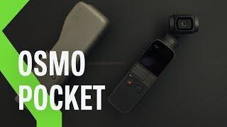 DJi Osmo Pocket: así es el GIMBAL MÁS PEQUEÑO del mercado. Primeras impresiones