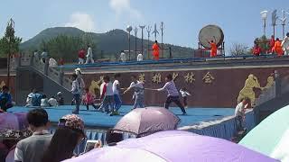 2015年登封河南少林寺武术表演 Martial Arts Performance at Shaolin Temple in Henan, Pt. 3