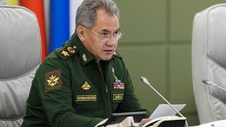 Селекторное совещание с Министром обороны РФ генералом армии Сергеем Шойгу