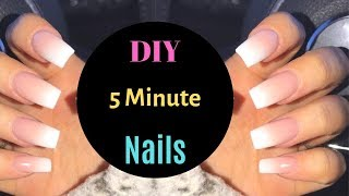 How To: Press On Nails That Last 3 WEEKS! *No Acrylic*