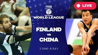 Finland v China - Group 2: 2017 FIVB Volleyball World League